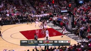 San Antonio Spurs vs Portland Trail Blazers - Full Highlights