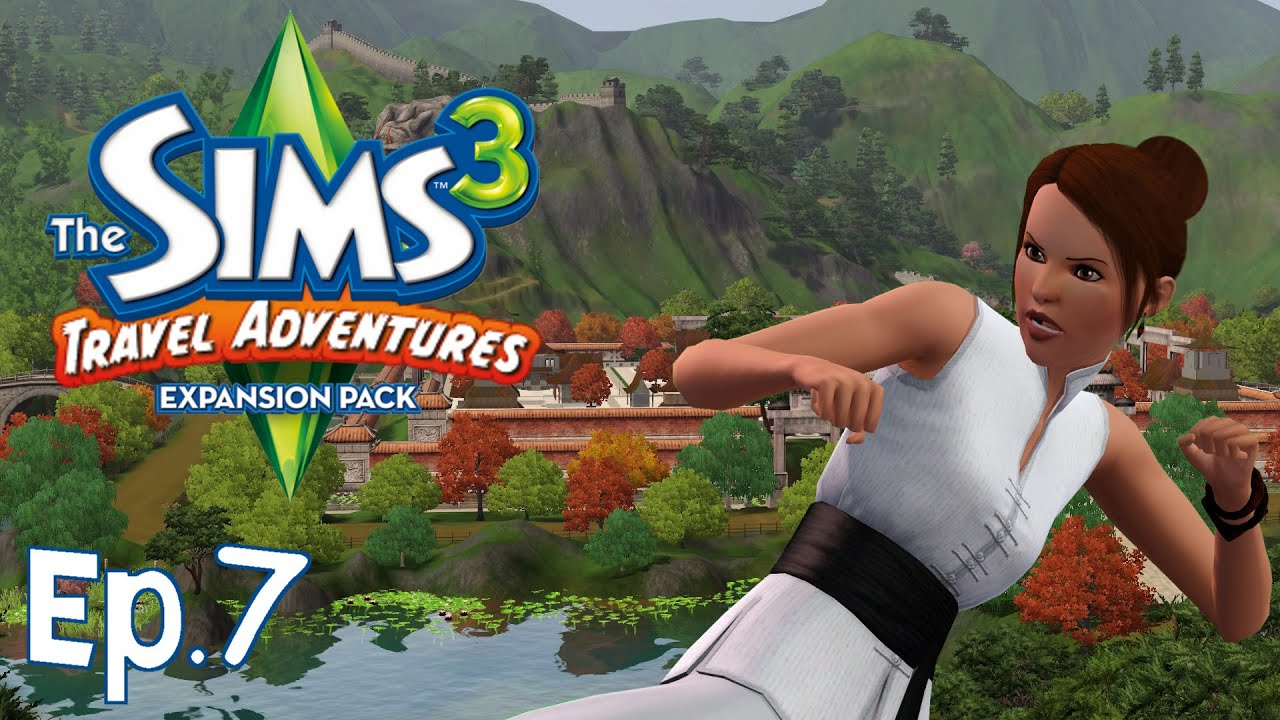 the sims 3 torneo di arti marziali ep 7 travel adventures gameplay ita youtube