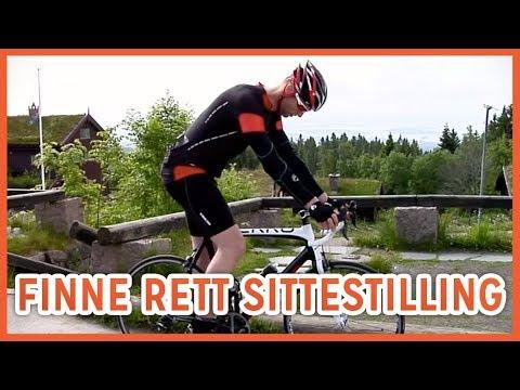 Hvordan Finne Rett Sittestilling På Sykkelen?