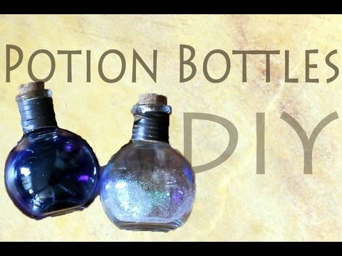 Glass Potion Bottles and Medieval Potion Bottles from Dark Knight ...