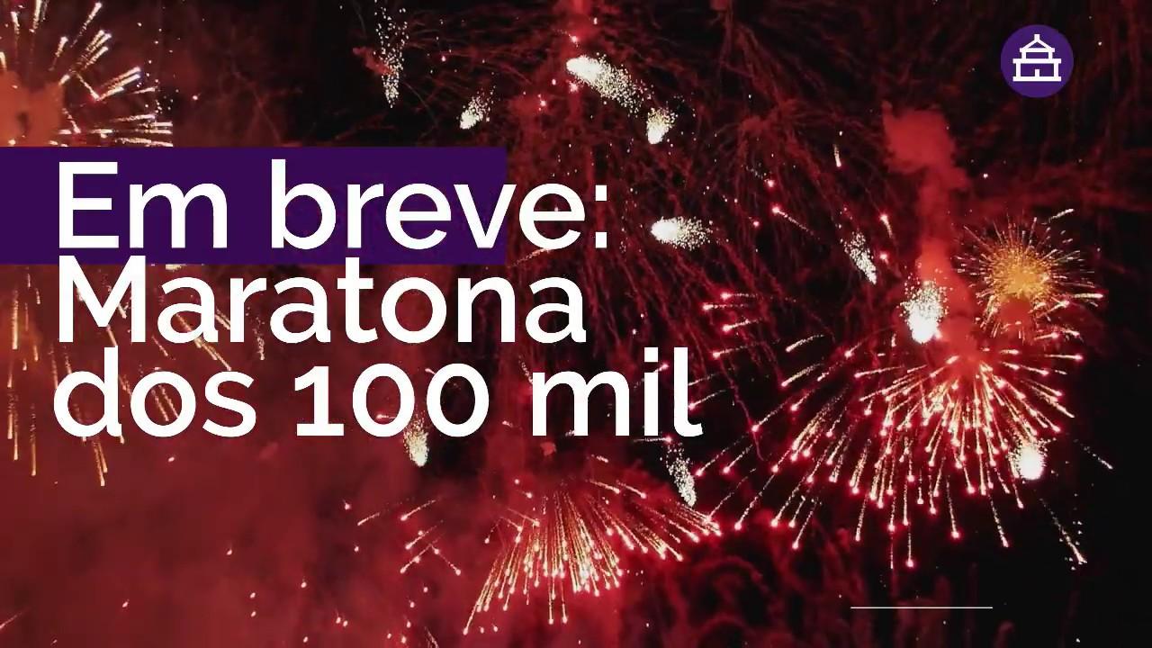 CHEGAMOS A 100.000!! NOSSO MUITO OBRIGADO!!!!
