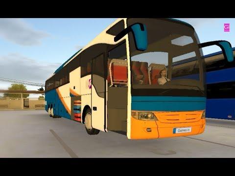 Mercedes Benz _ Bus Simulator Ultimate _ Frankfurt To Munchen _ Games in