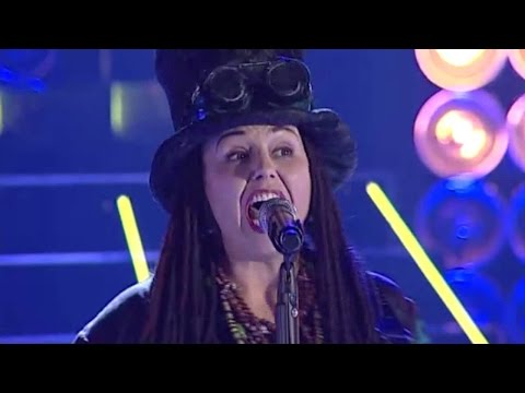 Muzikinė kaukė 2015: Violeta Tarasovienė / 4 Non Blondes - What's Up