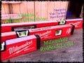 """Milwaukee 16"""", 24"""", 48"""" RedStick level review"""