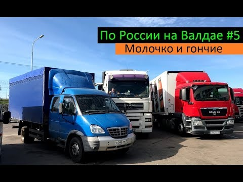 По России на Валдае #5 (Молочко и гончие) Перевозчик РФ