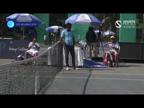 SFA Mumbai 2015 | Tennis | Kumar Avinendra Shailendra vs Kapoor A Manoj | Boys | U-14 | PRE QF |