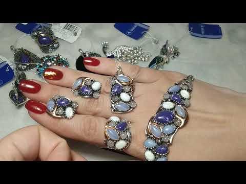 Серебряные украшения от харьковского завода
