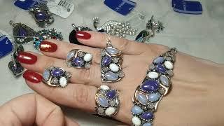 видео серебряные кольца украина