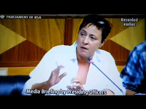 South African Press Pummels Parliament's Speaker Over Sona 2015 Disruption