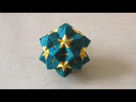 Christmas Origami Instructions Star Sonobe Maria Sinayskaya Youtube