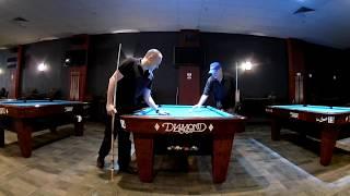 Pool Lesson with John Pierson - Part 1, Mastering the Draw Stroke & Bridge | Max Eberle Vlog #8