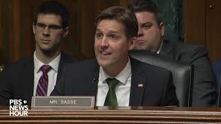 WATCH: 'We're going to be under attack again in 2020,' Sen. Sasse says