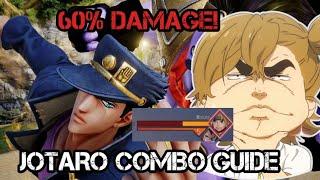 Jotaro Is Top Tier! Jotaro Combo Guide | Jump Force