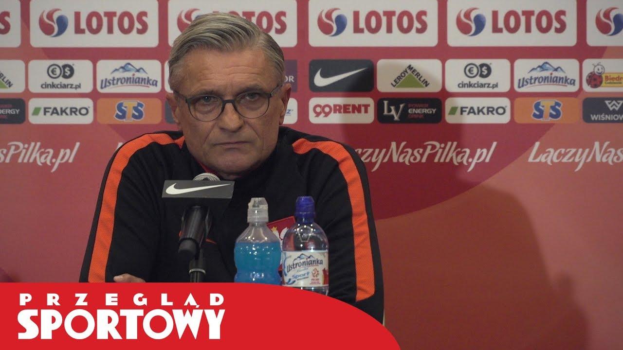 Adam Nawałka przed meczami Polska – Urugwaj i Polska – Meksyk