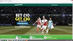 Paddy Power £30 Free Bet - How to Guide & Profit Analysis
