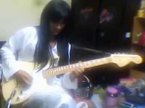Selamat Hari Raya Rahimah Rahim - guitar rock Yus Malmsteen