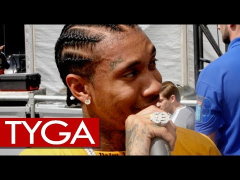 Tyga fresh off performing hit after hit at Wireless