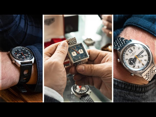The Rarest Vintage Heuer Watches In The World with VintageHeuer