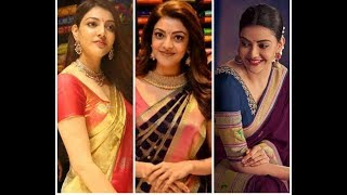 Traditional Sarees In Kajal Agarwal