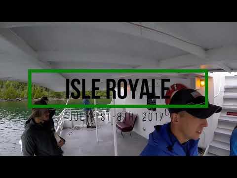 Isle Royale 2017: Part 4-Daisy Farm to Rock Harbor