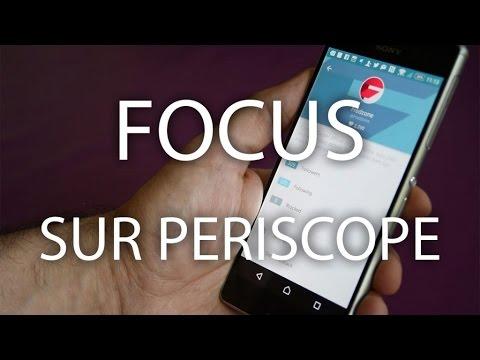 Focus sur Periscope thumbnail