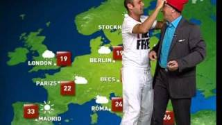 Jimmy Jump @ Tv2 Időjárás Jelentés