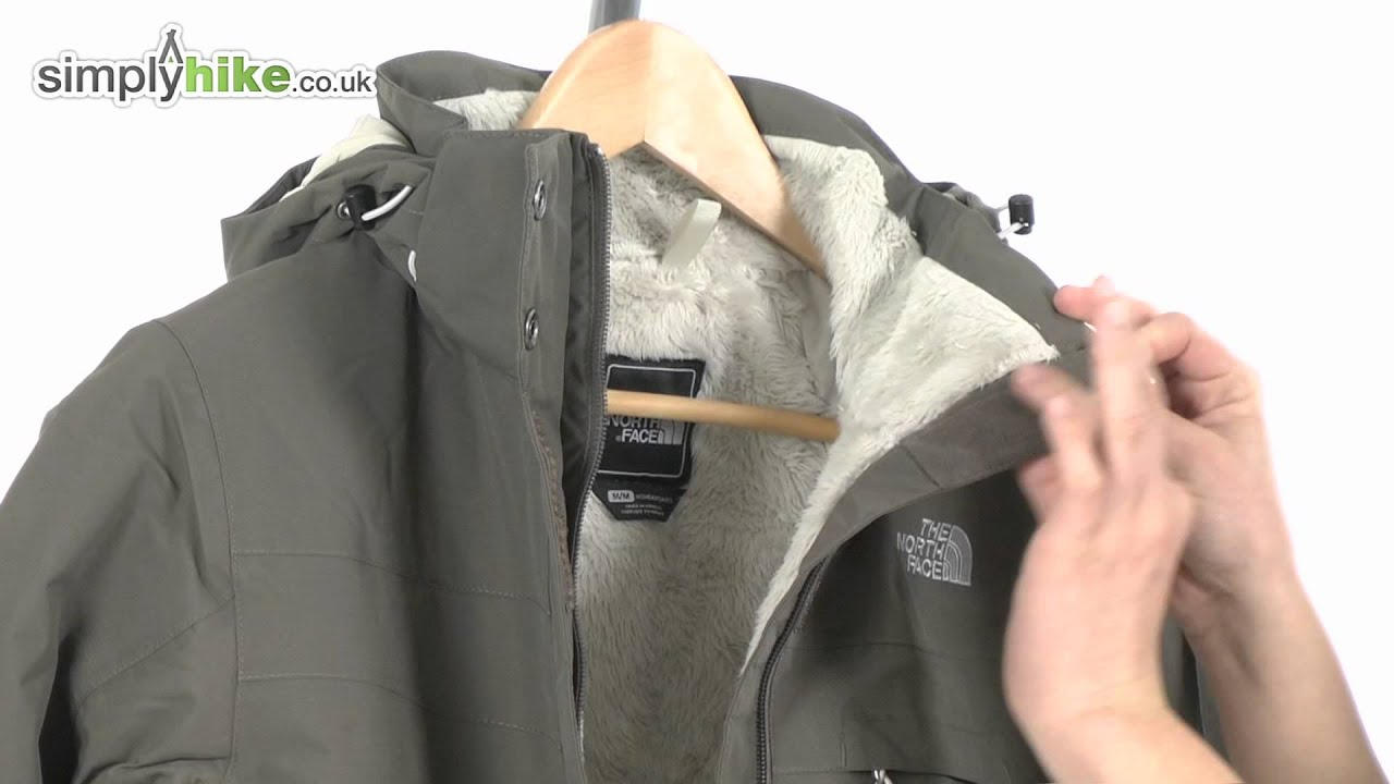 The North Face Womens Inlux Insulated Jacket - www.simplyhike.co.uk -  YouTube