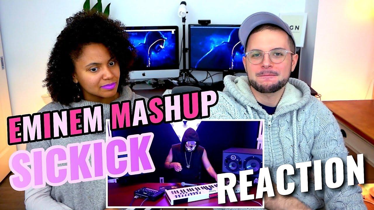 Sickick - Epic Eminem MashUp | Live | REACTION