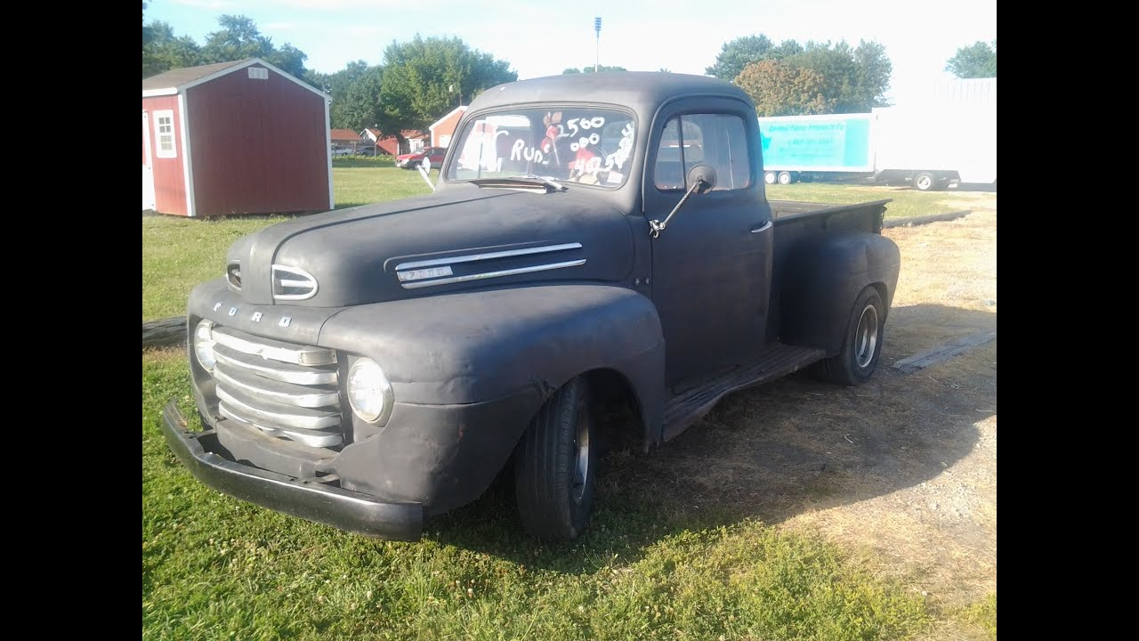 my 1949 ford f1 pickup truck youtube. Black Bedroom Furniture Sets. Home Design Ideas