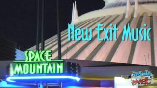 Space Mountain new on-ride music at Walt Disney World's Magic Kingdom - Full Ride