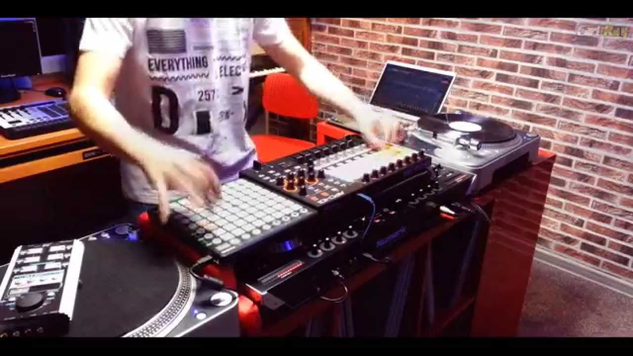 He's The Greatest Dancer - Carl Rag Remix (Akai APC40 mkII, Novation  Launchpad)