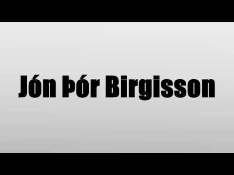 Jón Þór Birgisson