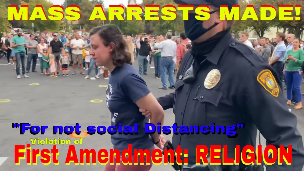 POLICE Arrested church goers exercising religion in IDAHO! - via Moscow times.