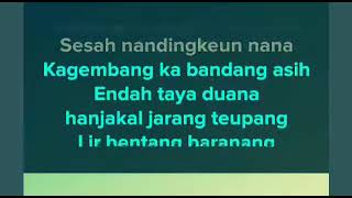 Gambar cover Kagembang - Neneng Fitri   Pop Sunda karaoke