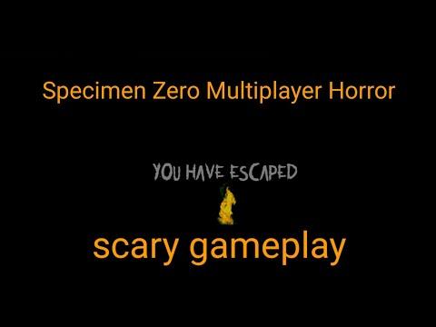Specimen Zero Multiplayer Horror Gameplay |