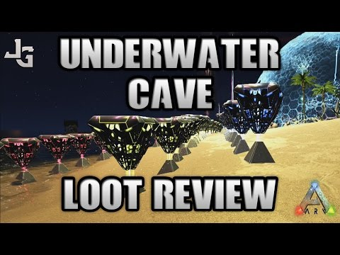 ARK - Underwater Cave Loot Crates - Loot Review - Testing