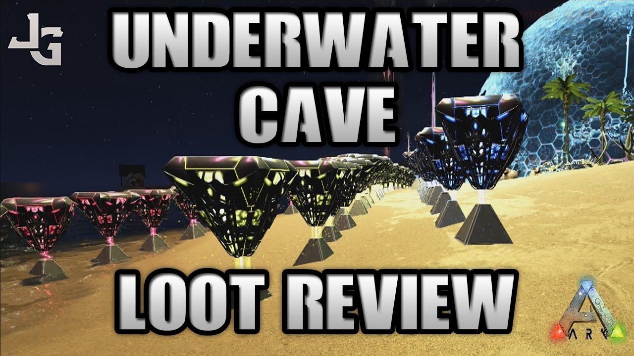ARK - Underwater Cave Loot Crates - Loot Review - Testing