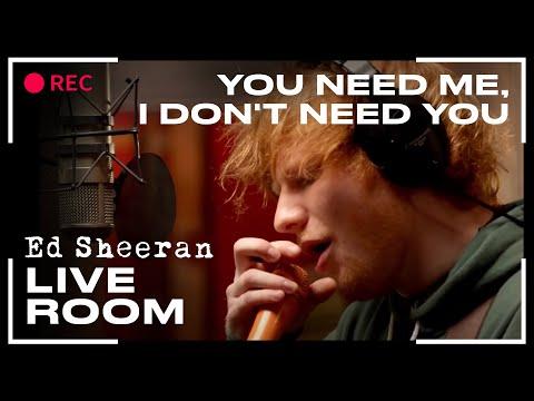 You Need Me I Don T Need You Lyrics Live Room