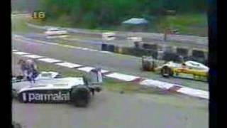 Nelson Piquet X Eliseo Salazar