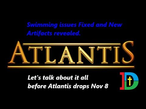 DC Universe Online Atlantis Update: Swimming Fixed And Artifact Discussion