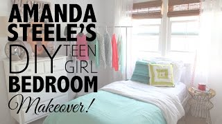 Diy Teen Girl Bedroom Makeover With Makeupbymandy24