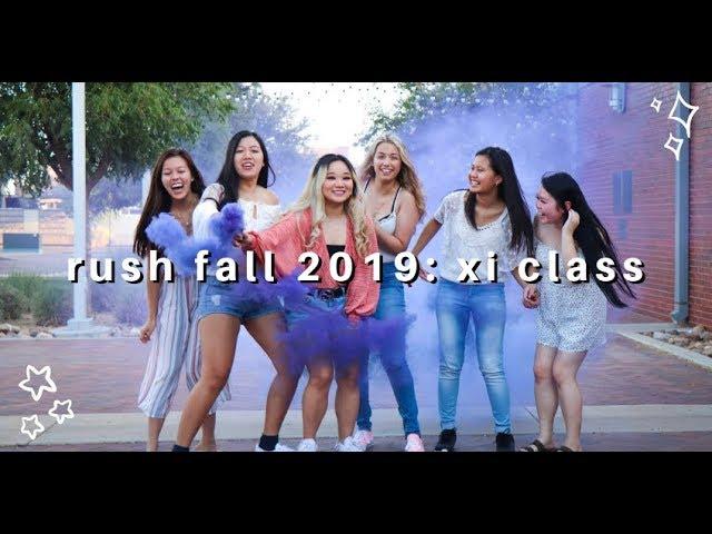 Rush Lambda Delta Psi Fall 2019: Xi Class