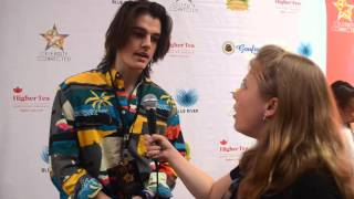 Singer/Songwriter Kenny Holland Interview at Celebrity Connected Oscars Gifting Suite