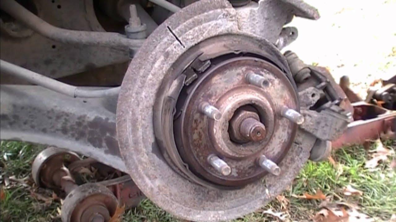 Ford Explorer Emergency Brakes Fix 2003 Youtube