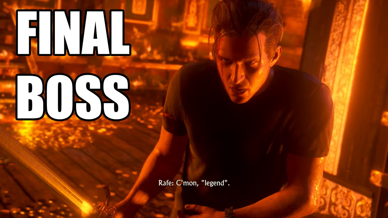 Uncharted 4 A Thief S End Rafe Boss Fight Youtube