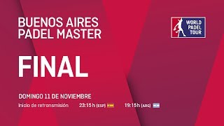 Finales - Buenos Aires Padel Master 2018 - World Padel Tour