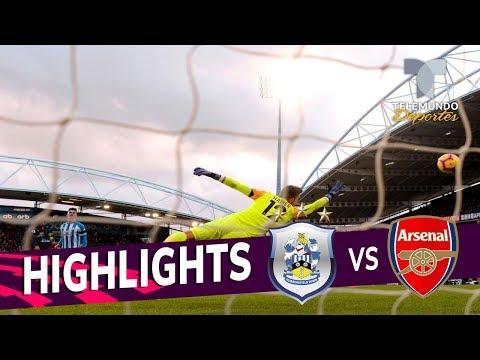 Huddersfield vs. Arsenal: 1-2 Goals & Highlights | Premier League | Telemundo Deportes