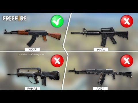 Guess the gun sound   Adivinhe a arma do Free Fire apenas ouvindo o som   Challenge