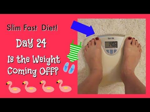 Slim Fast Diet Day 24