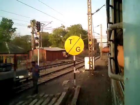 22127 Anandwan Express slowly skips Jalgaon Jn